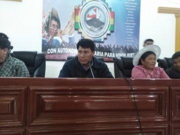 Omar Veliz es el nuevo gobernador de Potosí