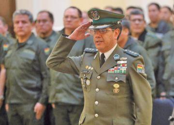 Un potosino es el Comandante General de la Policía Boliviana