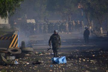 Cocaleros denuncian muertos durante enfrentamiento con fuerzas del orden en Sacaba