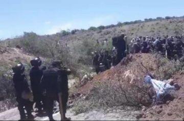 La Policía desbloquea hasta Millares para abrir paso a la delegación chuquisaqueña