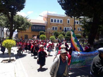 Vea en imágenes de la llegada de pobladores de la provincia Saavedra