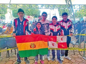 Potosinos logran medallas en torneo de robótica