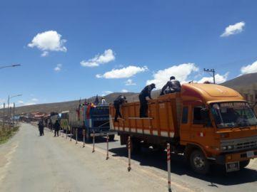 El Potosí transmite la llegada de los pobladores de Saavedra