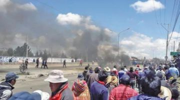 Defensoría del Pueblo confirma tres muertos  y 30 heridos en Senkata