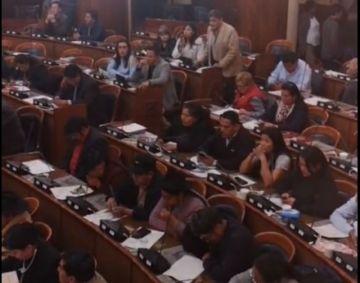 Se instala la sesión en la Cámara de Diputados