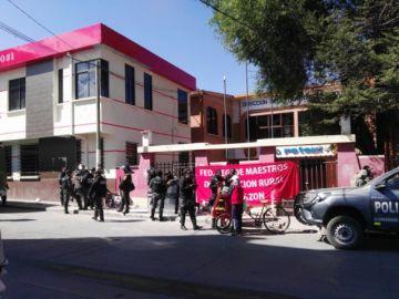 Maestros rurales piden abrir la Dirección Departamental de Educación