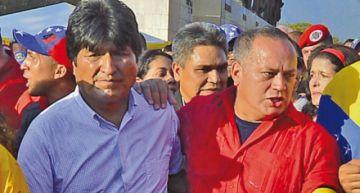 Diosdado Cabello afirma que no habrá elecciones en Bolivia