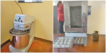 Inician elaboración de pan integral en el Centro de Educación  San Juan de Dios