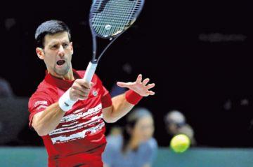 El serbio Novak Djokovic defiende la Copa Davis