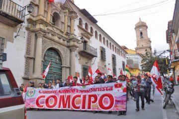 Los cívicos marcharán exigiendo convocatoria a elecciones nacionales