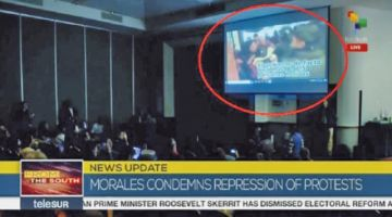 Expresidente mostró video de represión en México como si fuera de Bolivia