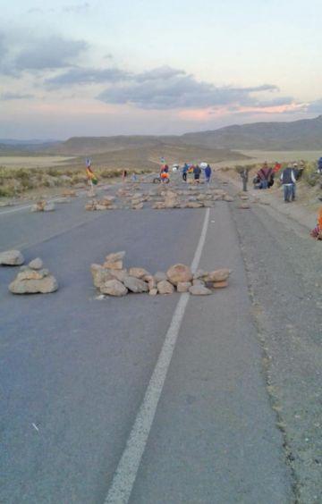 Únicamente existiría un punto de bloqueo en Potosí