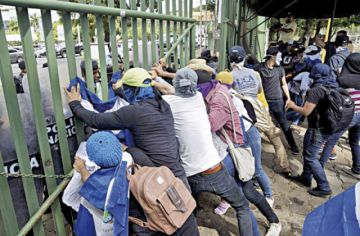 Estados Unidos condena represión en Nicaragua