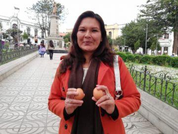 "Jiménez pide que Canaviri ""se ponga los huevos"""