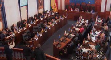 Cámara de Senadores sesiona acerca de la ley electoral