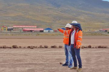 Retomaron los trabajos de construcción del aeropuerto internacional