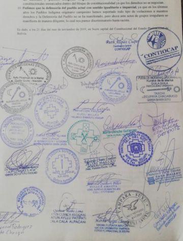 Sepa qué naciones son las  que firman el documento