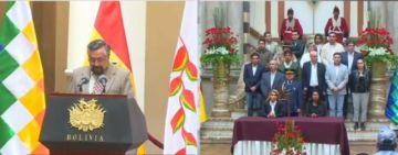 Se promulga la ley de convocatoria a elecciones para Bolivia