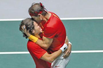 España disputará la final de la Copa Davis