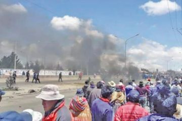 El Alto: fallece la novena víctima por enfrentamientos en Senkata