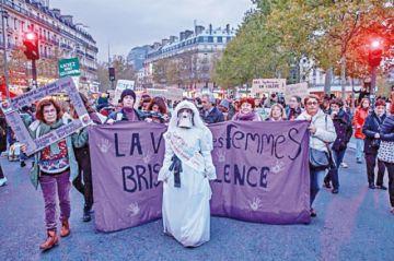Movilización en Francia contra violencia machista
