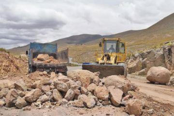 El tráfico en el camino Potosí a Challapata se normalizó
