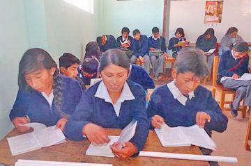 Fijan para el 6 de diciembre el fin de la gestión escolar en Potosí