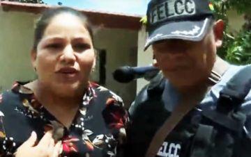 Detienen a excandidata masista cuando daba conferencia de prensa