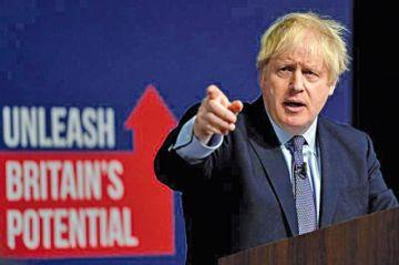 "Johnson promete zanjar el ""brexit"" si resulta elegido"