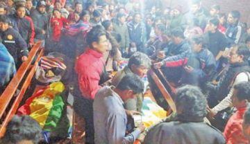CIDH recibe testimonios de los familiares de fallecidos