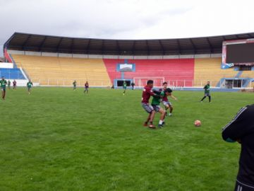 El equipo de Real Potosí está listo para recibir a Bolívar