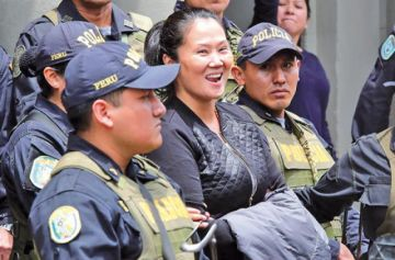 Tribunal ordena la libertad de la excandidata Fujimori