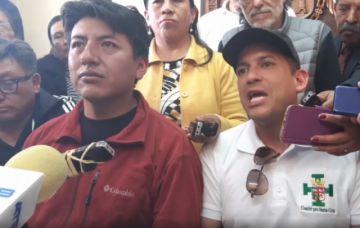 Camacho y Pumari asumirían ser candidatos si es que hay unidad en un frente único