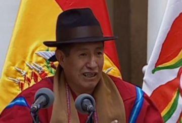 """Rafael Quispe asume en el Fondo Indígena y promete """"poner orden"""""""