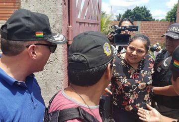Detienen a excandidata del MAS indagada por las muertes de Montero
