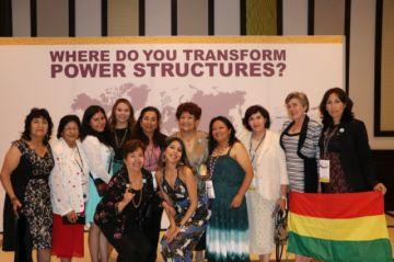 Delegación boliviana estuvo en el 29° Consejo Mundial de la YWCA