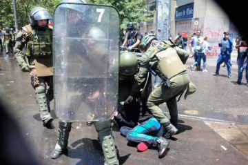 Policía chilena cometió violaciones a los DDHH