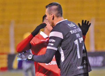 Wilstermann saldrá en defensa del arquero Arnaldo Giménez