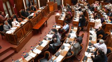 Diputados aprueban convocatoria y reglamento para elegir vocales de los TED