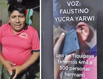 Revelan que el dirigente Yucra realizó tres llamadas a México