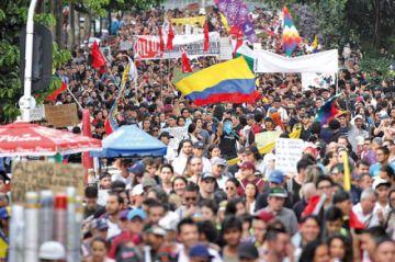 Colombia volvió al paro contra política de Duque