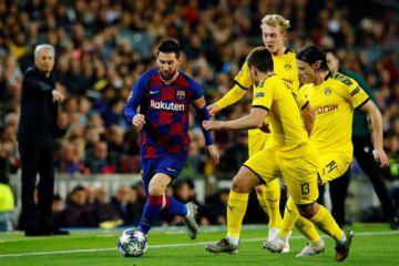 Barza vence a Borussia y se clasifica a octavos