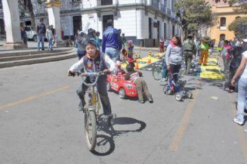Este domingo 1 de diciembre es el Día del Peatón en Potosí