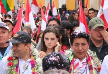 Nadia se viraliza desde El Potosí