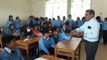 Estudiantes plantarán un millar de arbolitos en la zona de Karachipampa