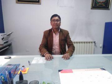 Zenón Condori es el nuevo gerente interino del Servicio de Impuestos en Potosí