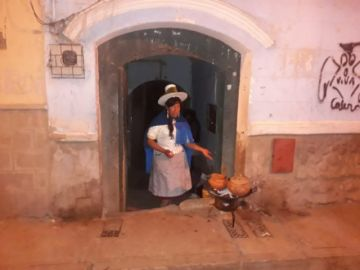 Estudiantes del colegio Tomás Frías desarrollan noche turística