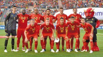 Bélgica lidera el ranking de la FIFA