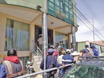 Renuncia el pleno del directorio sindical de trabajadores de Aapos