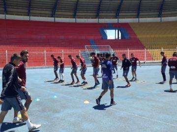 Real Potosí se alista para su partido contra Guabirá